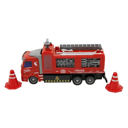 Машина радиоуправляемая НОРДПЛАСТ Специальная техника 9/0025, красный