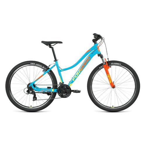"""Велосипед Forward Jade 27,5 1.2 (2021) горный рам.:16.5"""" кол.:27.5"""" бирюзовый/розовый 14.5кг (RBKW1M"""