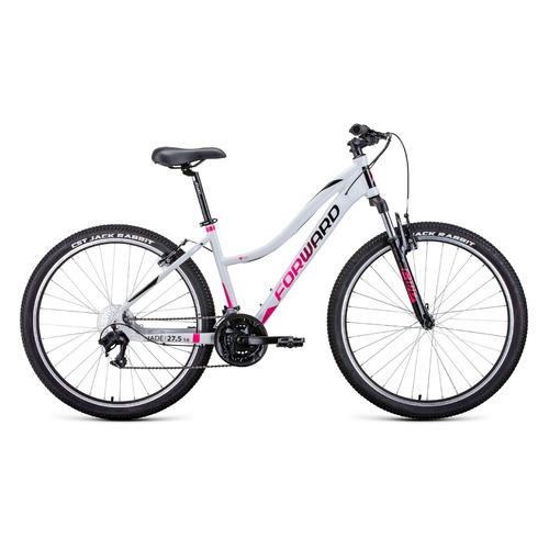 """Велосипед Forward Jade 27,5 1.2 (2021) горный рам.:16.5"""" кол.:27.5"""" серый/розовый 14.5кг (RBKW1M37G0"""