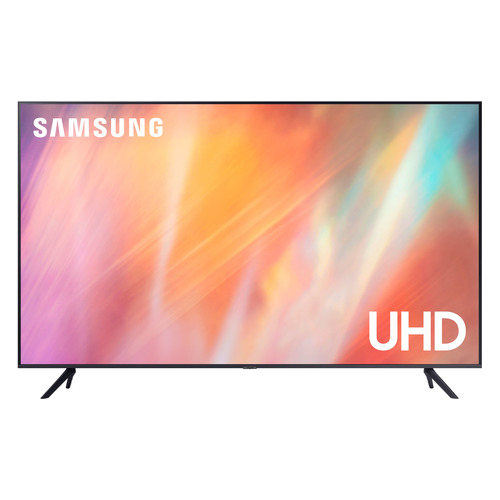 Фото - Телевизор SAMSUNG UE50AU7100UXRU, 50, Ultra HD 4K телевизор samsung 50 4k ue50tu7090uxru