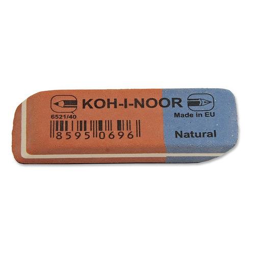 Упаковка ластиков KOH-I-NOOR 6521 6516, 35х24х8мм , каучук, прямоугольный, ассорти [6521040021kdru] 40 шт./кор. стирательная резинка ластик koh i noor bluestar 6521 40