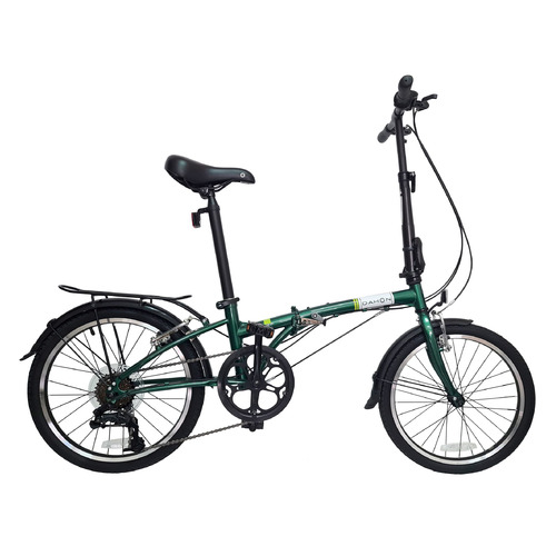 """Велосипед Dahon Dream D6 (2021) городской складной кол.:20"""" зеленый (VD21008)"""