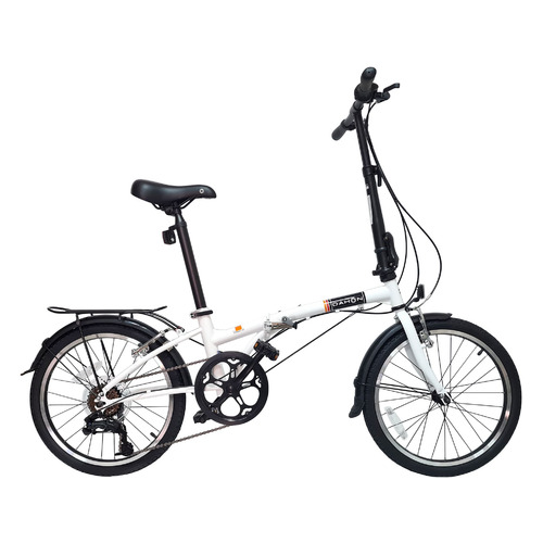 """Велосипед Dahon Dream D6 (2021) городской складной кол.:20"""" белый (VD21011)"""
