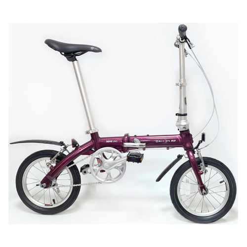 """Велосипед Dahon Dove Royal (2021) городской складной кол.:14"""" фиолетовый (VD21002)"""
