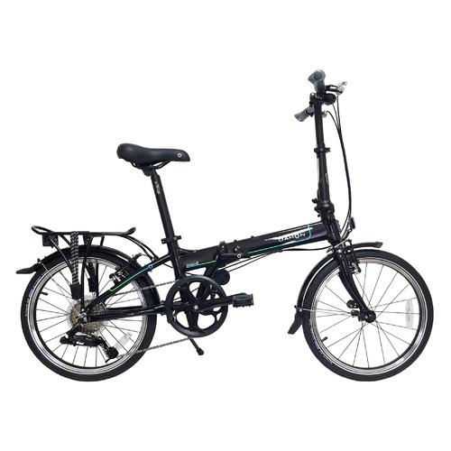 """Велосипед Dahon Mariner D8 (2021) городской складной кол.:20"""" черный (VD21014)"""