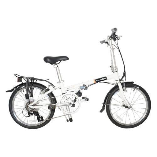 """Велосипед Dahon Boardwalk D8 (2021) городской складной кол.:20"""" белый (VD19004)"""