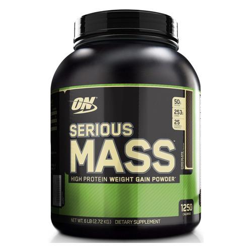 Гейнер GEON Serious Mass, порошок, 2.72кг, шоколад
