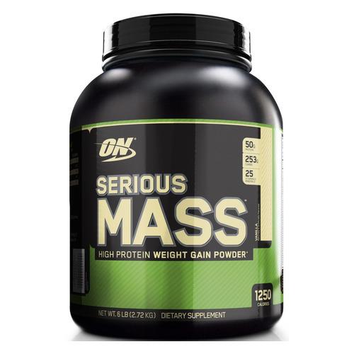 Гейнер GEON Serious Mass, порошок, 2.72кг, ваниль