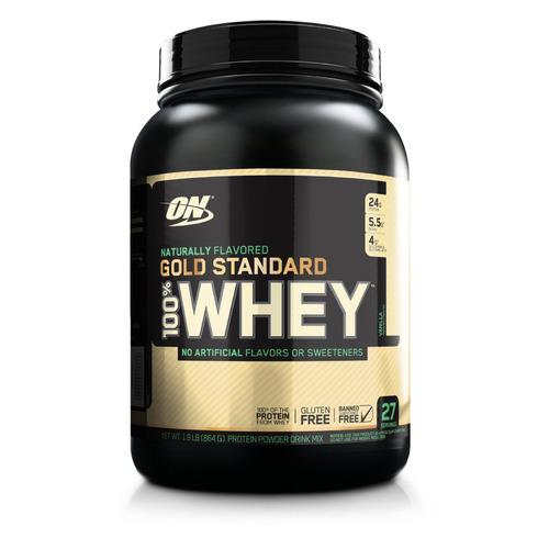 Протеин OPTIMUM NUTRITION Whey Gold Standard, порошок, 864гр, ваниль