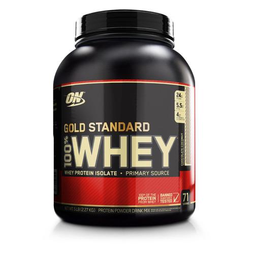 Протеин OPTIMUM NUTRITION Whey Gold Standard, порошок, 2.27кг, шоколад-кокос