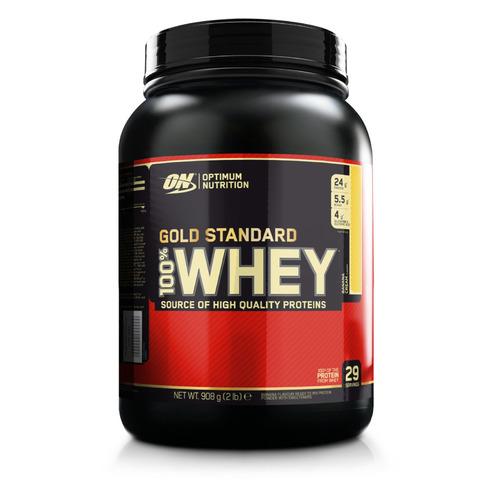 Протеин OPTIMUM NUTRITION Whey Gold Standard, порошок, 907гр, банан