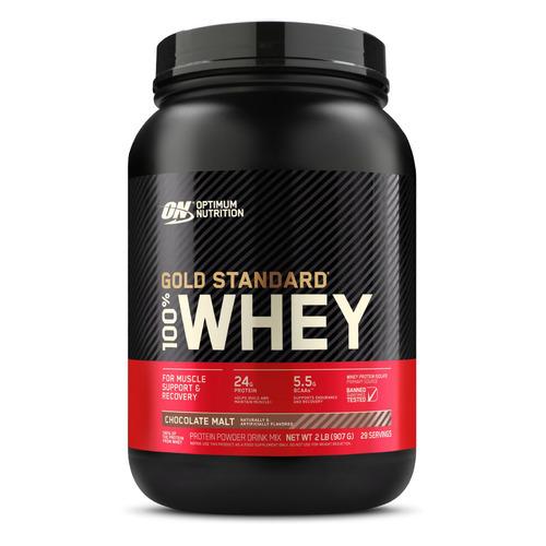 Протеин OPTIMUM NUTRITION Whey Gold Standard, порошок, 907гр, шоколадный солод
