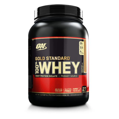 Протеин OPTIMUM NUTRITION Whey Gold Standard, порошок, 907гр, шоколадно-арахисовое масло