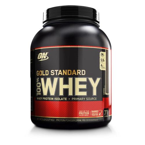Протеин OPTIMUM NUTRITION Whey Gold Standard, порошок, 2.27кг, кофе