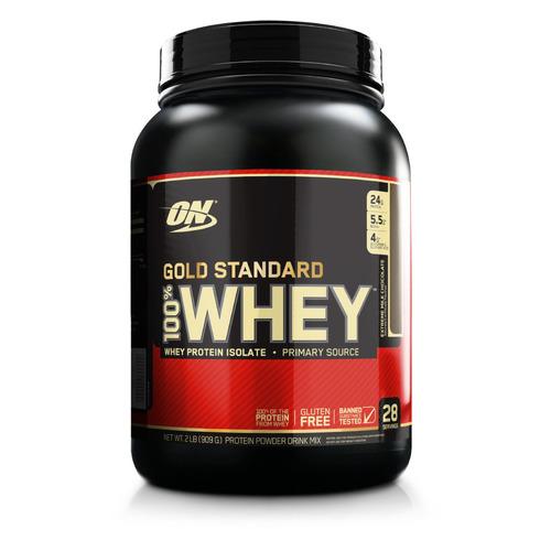 Протеин OPTIMUM NUTRITION Whey Gold Standard, порошок, 907гр, молочный шоколад