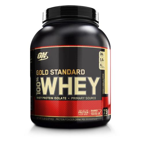Протеин OPTIMUM NUTRITION Whey Gold Standard, порошок, 2.27кг, французская ваниль