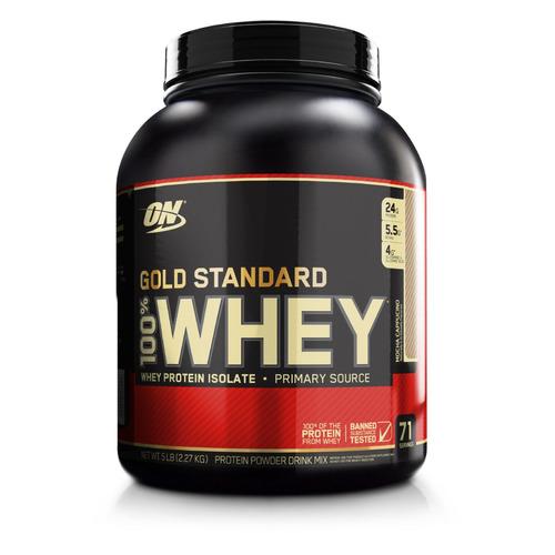 Протеин OPTIMUM NUTRITION Whey Gold Standard, порошок, 2.27кг, капучино