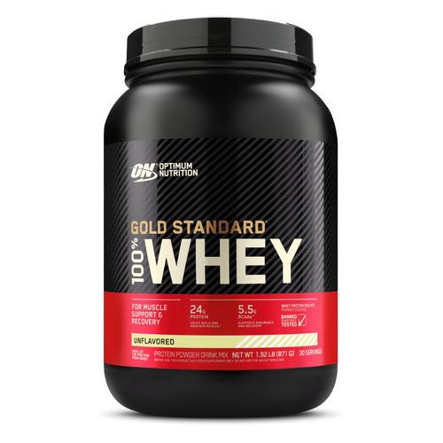 Протеин OPTIMUM NUTRITION Whey Gold Standard, порошок, 871гр, нейтральный