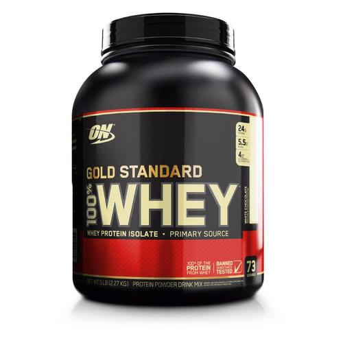 Протеин OPTIMUM NUTRITION Whey Gold Standard, порошок, 2.27кг, белый шоколад