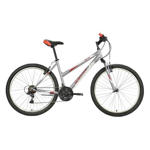 "Велосипед Black One Alta 26 горный рам.:14.5"" кол.:26"" серый/красный (HQ-0004659)"
