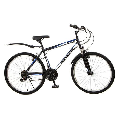 Велосипед Topgear Forester (2021) горный рам.:18 кол.:26 черный 18кг (ВН26430К)