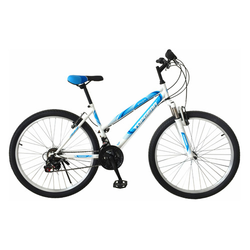 Велосипед Topgear Style (2021) горный рам.:16 кол.:26 белый/голубой 18кг (ВН26431К)