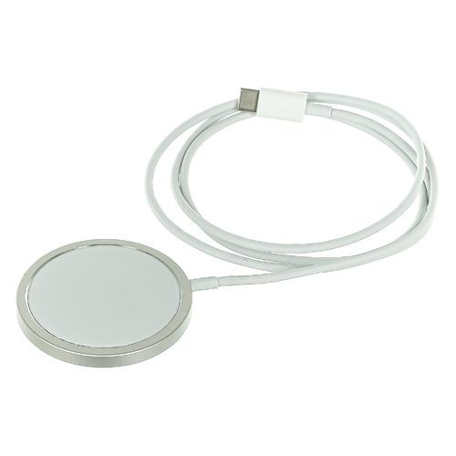 Беспроводное зарядное устройство Barn&Hollis Qi-13, USB type-C, 1A, белый