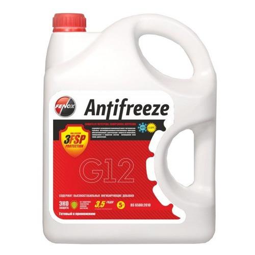 Антифриз Fenox Universal G12 красный 4.2л (AF5252)