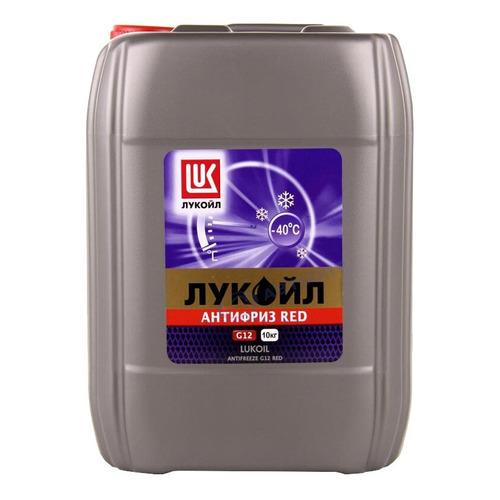 Антифриз Lukoil G12 G12 красный 10кг (227390)