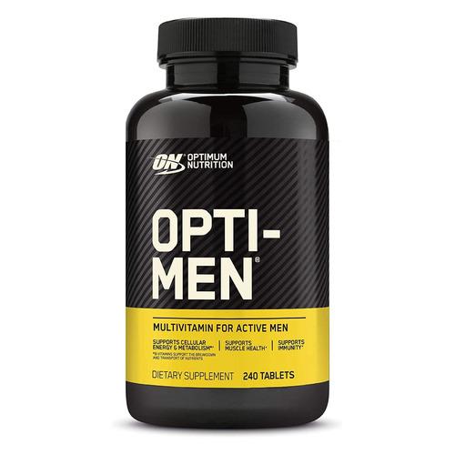 Витаминно-минеральный комплекс OPTIMUM NUTRITION Opti-Men, 240, таблетки scitec nutrition bcaa express 7 г