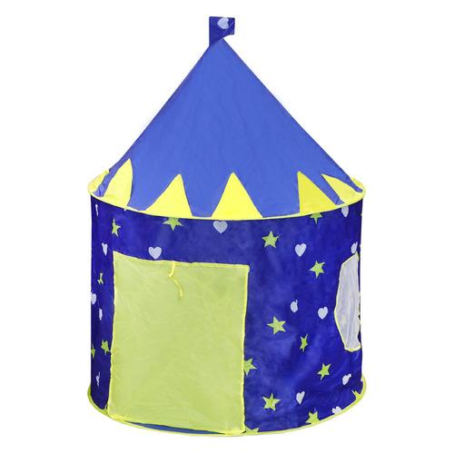 Фото - Палатка детск. Наша Игрушка Замок Принца синий (42524) палатка jian hong замок принца 200280835 синий желтый