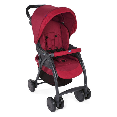 Прогулочная коляска Chicco SimpliCity Plus Top, Red [07079115300000]
