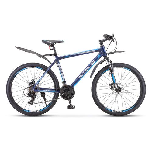 велосипед stels navigator 620 md 26 v010 19 тёмно синий Велосипед Stels Navigator-620 MD 26 (V010) горный рам.:19 кол.:26 темно-синий (LU084773)