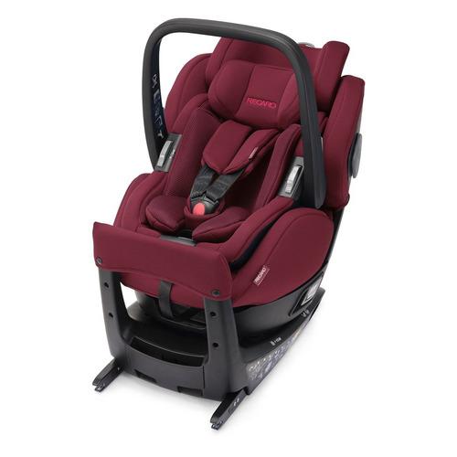 Автокресло детское RECARO Salia Elite, 0/1, от 0 мес до 4 лет, красный автокресло детское recaro salia select night black 0 1 от 0 мес до 4 лет черный