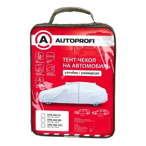 Тент автомобильный Autoprofi UNV-485 (XL) 485x178x119см серый