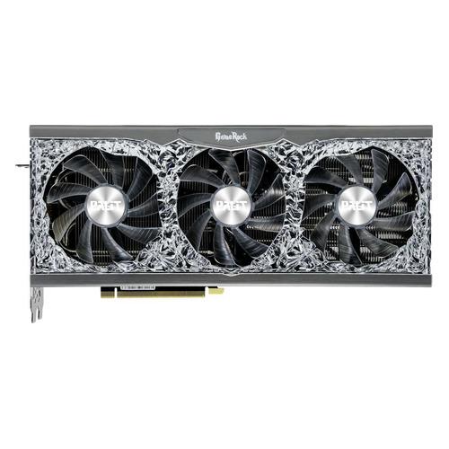 Видеокарта PALIT NVIDIA GeForce RTX 3070 , PA-RTX3070 GAMEROCK OC 8G V1 LHR, 8ГБ, GDDR6, OC, LHR, Ret [ne63070h19p2-1040g]