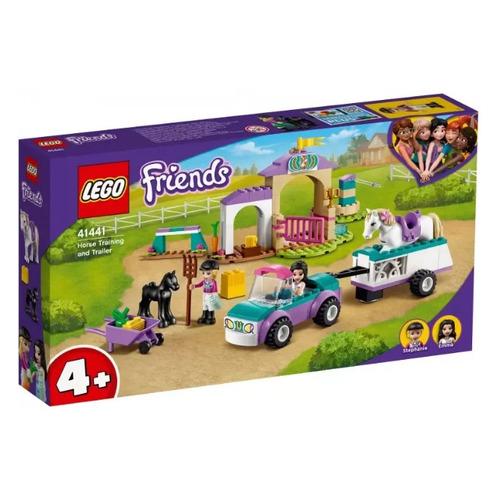 Конструктор Lego Friends Тренировка лошади и прицеп для перевозки, 41441