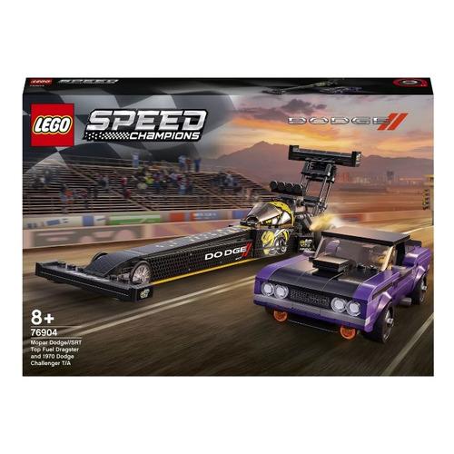 Фото - Конструктор Lego Speed Champions Mopar Dodge SRT Top Fuel Dragster and 1970 Dodge Challenger T/A, 76904 lego lego speed champions mopar dodge srt dragster and 1970 dodge challenger t a