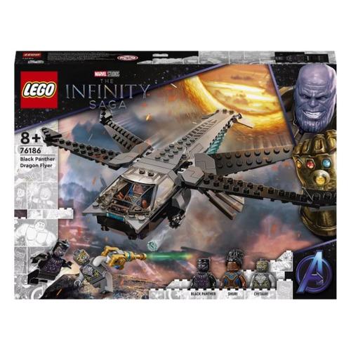 Конструктор LEGO Super Heroes Корабль Черной Пантеры Дракон, 76186