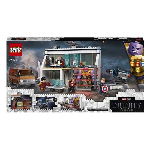 Конструктор LEGO Super Heroes Мстители: Финал - решающая битва, 76192