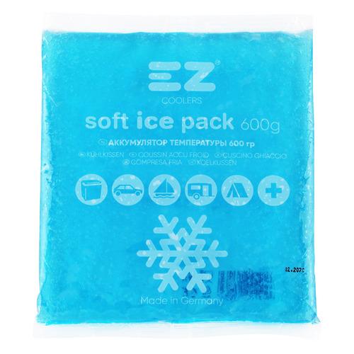 Аккумулятор холода EZ COOLERS Soft Ice Pack 600, 1шт [61032]