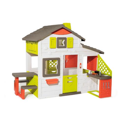 Домик игров. Smoby Friends House с кухней и звонком (810202)