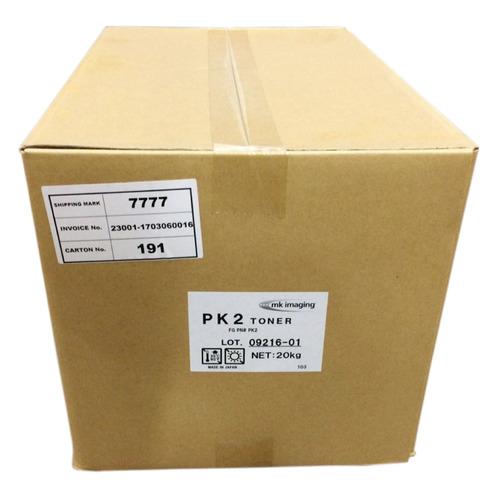 Тонер CET PK2, для KYOCERA ECOSYS M2035DN/M2030DN/P2135DN, FS-1028MFP/FS-4020DN, TASKalfa 180, черный, 20000грамм, мешок