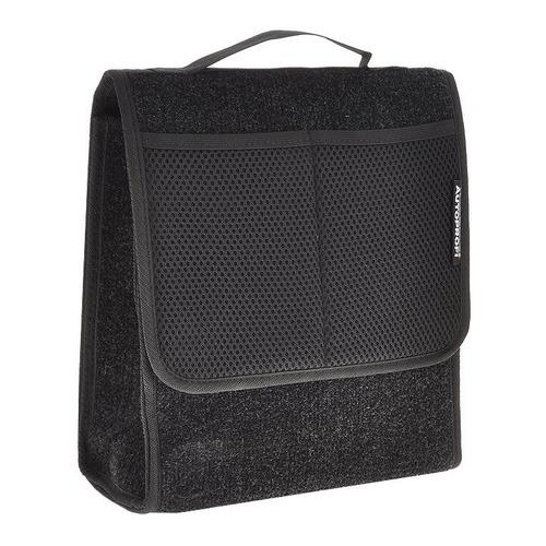 Органайзер багаж. Autoprofi TRAVEL фетер с ручками черный (ORG-10 BK)