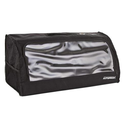 Органайзер багаж. Autoprofi TRAVEL брезентовый с ручками черный (ORG-35 BK)