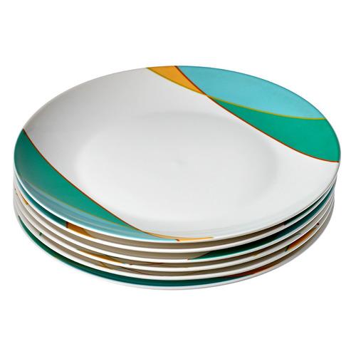 Набор тарелок BRADEX TK 0608, 24см, 6 предметов