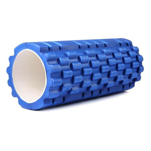 Ролик для йоги Bradex Туба d=14см ш.:33см синий (SF 0064)