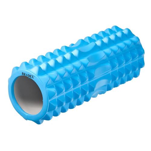 Ролик для йоги Bradex Туба d=14см ш.:33см бирюзовый (SF 0342)