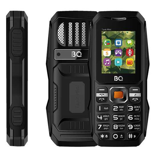 Фото - Сотовый телефон BQ Tank mini 1842, черный сотовый телефон bq 2432 tank se black