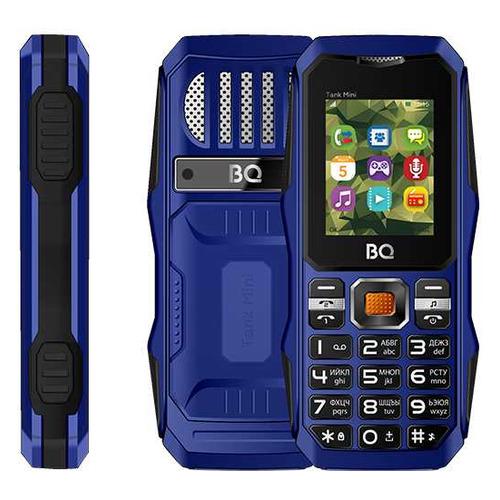Фото - Сотовый телефон BQ Tank mini 1842, темно-синий сотовый телефон bq 2432 tank se black